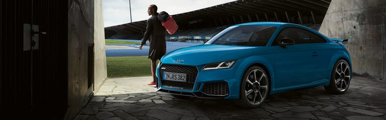 The all new Audi TT RS Coupé